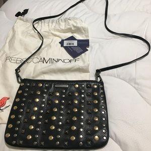 Rebecca Mink-off Rocker crossbody bag